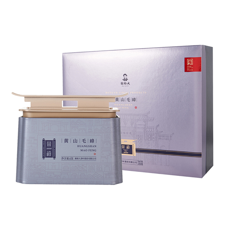 谢裕大 黄山毛峰特三荣裕1000礼盒260g