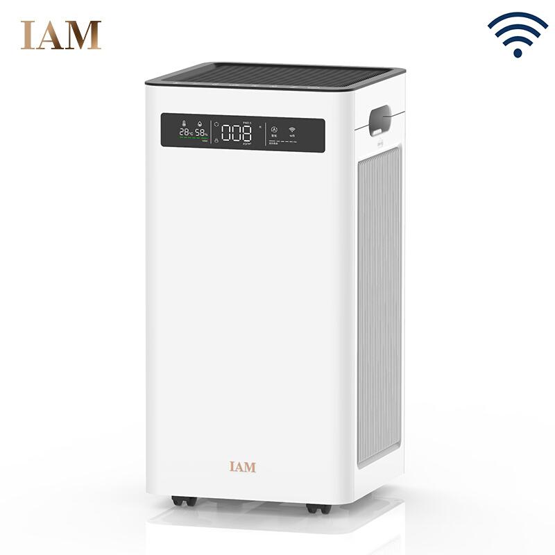 IAM KJ500F空气净化器 除甲醛雾霾细菌 家用办公室负离子